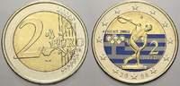 2 Euro (Farbe, coloriert) 2004 Griechenland  unzirkuliert  8,00 EUR  zzgl. 5,00 EUR Versand