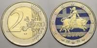 2 Euro (Farbe, coloriert) 2002 Griechenland  unzirkuliert  8,00 EUR  zzgl. 5,00 EUR Versand