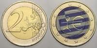 2 Euro (Farbe, coloriert) 2009 Griechenland  unzirkuliert  8,00 EUR  zzgl. 5,00 EUR Versand
