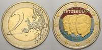 2 Euro (Farbe, coloriert) 2011 Luxemburg  unzirkuliert  8.88 US$ 8,00 EUR  +  11.10 US$ shipping