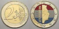 2 Euro (Farbe, coloriert) 2002 Luxemburg  unzirkuliert  8.88 US$ 8,00 EUR  +  11.10 US$ shipping