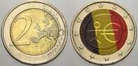 2 Euro (Farbe, coloriert) 2009 Belgien  unzirkuliert  8,00 EUR  +  5,00 EUR shipping