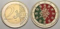 2 Euro (Farbe, coloriert) 2002 Portugal  unzirkuliert  8,00 EUR  zzgl. 5,00 EUR Versand