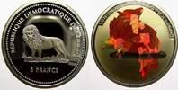 5 Francs (Farbmünze) 2 2004  G Kongo Republik seit 1997. Polierte Platte  15,00 EUR  +  5,00 EUR shipping
