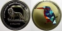 5 Francs (Farbmünze) 2 2004 Kongo Republik seit 1997. Polierte Platte  15,00 EUR  zzgl. 5,00 EUR Versand