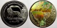10 Francs (Kinegramm) 2003 Kongo Republik seit 1997. Polierte Platte  50,00 EUR  +  5,00 EUR shipping