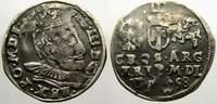 3 Gröscher 1 1598 Polen-Litauen Sigismund III. 1587-1632. Selten. Gesto... 125,00 EUR  +  5,00 EUR shipping