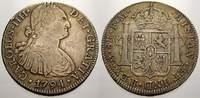 8 Reales 1794  FM Mexiko Carlos IV. 1789-1808. Sehr schön  95,00 EUR  zzgl. 5,00 EUR Versand