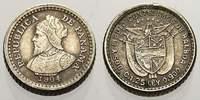 2 1/2 Centesimos 1904 Panama Republik seit 1903. Vorzüglich  30,00 EUR  zzgl. 5,00 EUR Versand
