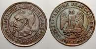 Bronzemedaille 1870 Frankreich Napoleon III. 1852-1870. Kleine Randuneb... 50,00 EUR  zzgl. 5,00 EUR Versand