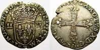 1/4 Ecu 1595  T Frankreich Karl X. 1589-1590. Doppelschlag. Sehr schön ... 4270 руб 60,00 EUR  +  712 руб shipping