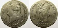 15 Sols, type 'FRANCOIS' 1791  I Frankreich Ludwig XVI. 1774-1793. Sehr... 5338 руб 75,00 EUR  +  712 руб shipping