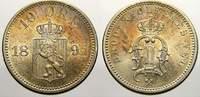10 Öre 1 1897 Norwegen Oskar II. 1872-1905. Fast stempelglanz von Polie... 8896 руб 125,00 EUR  +  712 руб shipping