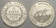1/6 Taler 1861  A Anhalt-Bernburg Alexander Carl 1834-1863. Vorzüglich ... 45,00 EUR  zzgl. 5,00 EUR Versand