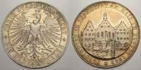 Taler 1863 Frankfurt, Stadt  Winz. Randfehler, vorzüglich-stempelglanz  280,00 EUR kostenloser Versand