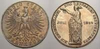 Taler 1862 Frankfurt, Stadt  Schöne Patina, vom polierten Stempel, vorz... 105,00 EUR  zzgl. 5,00 EUR Versand