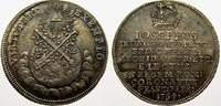 Krönungsjeton (Silberabschlag des Doppeldukaten) 1 1764 Haus Habsburg J... 95,00 EUR  zzgl. 5,00 EUR Versand