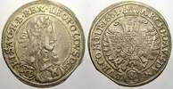 15 Kreuzer 1661  CA Haus Habsburg Leopold I. 1658-1705. Sehr schön  50,00 EUR  + 5,00 EUR frais d'envoi