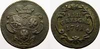 Cu Gröschel 1 1761 Haus Habsburg Maria Theresia 1740-1780. Sehr schön  20,00 EUR  zzgl. 5,00 EUR Versand