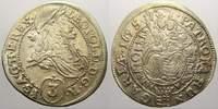 3 Kreuzer (Groschen) 1695  C Haus Habsburg Leopold I. 1658-1705. Selten... 50,00 EUR  + 5,00 EUR frais d'envoi