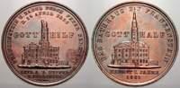 Bronzemedaille 1858 Schlesien-Frankenstein, Stadt  Schöne Patina, kl. S... 40,00 EUR  zzgl. 5,00 EUR Versand