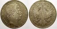 Florin (Gulden) 1870  A Haus Habsburg Franz Joseph I. 1848-1916. Fast s... 275,00 EUR free shipping