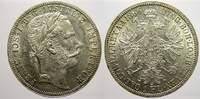 Florin (Gulden) 1866  A Haus Habsburg Franz Joseph I. 1848-1916. Vorzüg... 170,00 EUR  zzgl. 5,00 EUR Versand