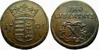 10-Poltura (Cu) 1705 Haus Habsburg Ungarische Malkontenten 1703-1707. F... 75,00 EUR  + 5,00 EUR frais d'envoi
