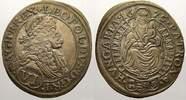 6 Kreuzer 1676 Haus Habsburg Leopold I. 1658-1705. Vorzüglich mit schön... 300,00 EUR free shipping