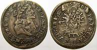 15 Kreuzer 1680  KB Haus Habsburg Leopold I. 1658-1705. Seltene Variant... 60,00 EUR  +  5,00 EUR shipping