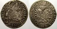 3 Kreuzer 1668 Schlesien-Der oberste Lehnsherr Leopold 1658-1705. Fast ... 35,00 EUR  zzgl. 5,00 EUR Versand