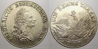 Taler 1779  A Brandenburg-Preußen Friedrich II. 1740-1786. Min. Schrötl... 475,00 EUR kostenloser Versand
