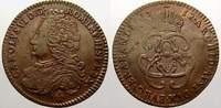 Cu Liard 1712 Haus Habsburg Karl VI. 1711-1740. Selten. Kl. Prägeschwäc... 175,00 EUR  zzgl. 5,00 EUR Versand