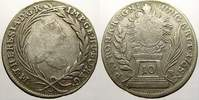 10 Kreuzer 1765 Haus Habsburg Maria Theresia 1740-1780. Sehr schön  25,00 EUR  +  5,00 EUR shipping