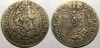3 Kreuzer. 1694 Haus Habsburg Leopold I. 1658-1705. Sehr schön  22,00 EUR  zzgl. 5,00 EUR Versand