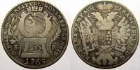 20 Kreuzer 1765 Nürnberg, Stadt  Sehr schön  22,00 EUR  +  5,00 EUR shipping