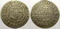 1/24 Taler (Groschen) 1763  FW Sachsen-Albertinische Linie Friedrich Au... 25,00 EUR  zzgl. 5,00 EUR Versand