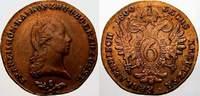 Cu 6 Kreuzer 1800  S Haus Habsburg Franz II. (I.) 1792-1835. Fast vorzü... 20,00 EUR  +  5,00 EUR shipping