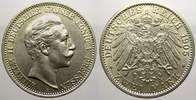 2 Mark 1905  A Preußen Wilhelm II. 1888-1918. Vorzüglich-stempelglanz  35,00 EUR  zzgl. 5,00 EUR Versand