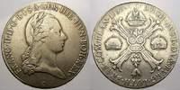 Kronentaler 1797  C Haus Habsburg Franz II. (I.) 1792-1835. Sehr schön  50,00 EUR  zzgl. 5,00 EUR Versand