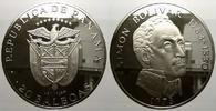 20 Balboas 1973 Panama Republik seit 1903. Kl. Flecke, polierte Platte  100,00 EUR  zzgl. 5,00 EUR Versand