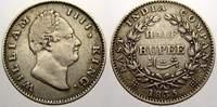 1/2 Rupee 1835 Indien-British Indien William IV, 1830-1837. Sehr schön  50,00 EUR  +  5,00 EUR shipping