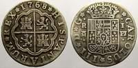 1 Real 1768  PJ Spanien Carlos III. 1759-1788. Sehr schön  40,00 EUR  +  5,00 EUR shipping
