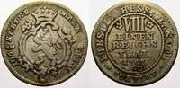 1/8 Taler 1767  FU Hessen-Kassel Friedrich II. 1760-1785. Gutes sehr sc... 35,00 EUR  +  5,00 EUR shipping