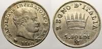 5 Soldi 1810  M Italien-Königreich Napoleon I. 1804-1814. Fast vorzügli... 25,00 EUR  +  5,00 EUR shipping
