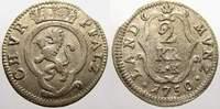 2 Kreuzer 1750  AK Pfalz, Kurlinie Karl Theodor 1742-1799. Sehr schön  20,00 EUR  +  5,00 EUR shipping
