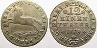 1/12 Taler (Doppelgroschen) 1789  MC Braunschweig-Wolfenbüttel Karl Wil... 15,00 EUR  zzgl. 5,00 EUR Versand