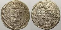 1 Kreuzer 1741 Hessen-Darmstadt Ludwig VIII. 1739-1768. Sehr selten. Se... 50,00 EUR  zzgl. 5,00 EUR Versand