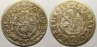 2 Kreuzer 1661 Salzburg, Erzbistum Guidobald von Thun und Hohenstein 16... 400,00 EUR free shipping