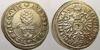 2 Kreuzer (Halbbatzen) 1694 Augsburg, Stadt  Vorzüglich-stempelglanz  95,00 EUR  zzgl. 5,00 EUR Versand